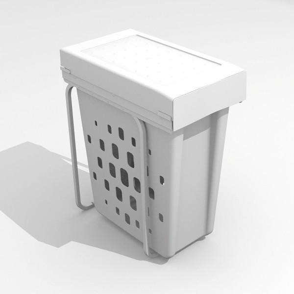 Einbau-Korb für Wäsche, Papier oder Glas