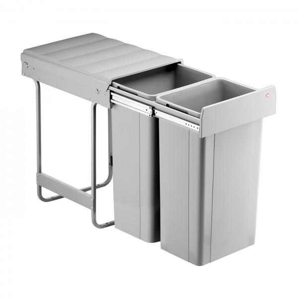 Einbau-Abfallsammler 2x32 Liter